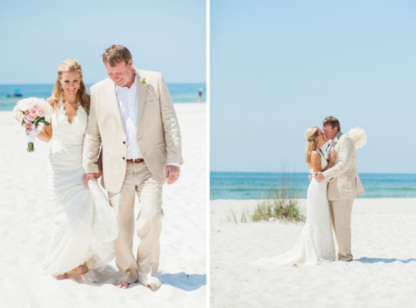Orange Beach Wedding Photo