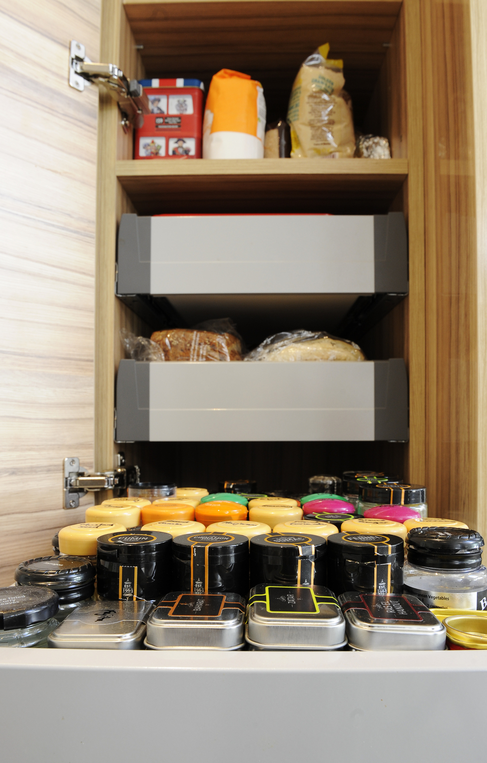 Store cupboard essentials provide versatility.