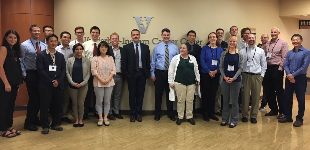 Some of the attendees at the First Annual Image Owl Users' Meeting at the  Vanderbilt-Ingram Cancer Cente r.
