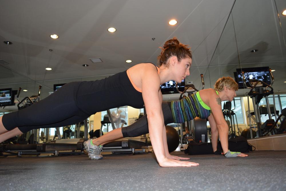 Women's Training 1 on 2