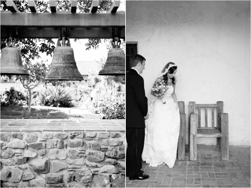 San Luis Obispo Mission Wedding Bride Groom-1