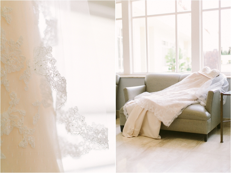 San Luis Obispo Mission Wedding Dress