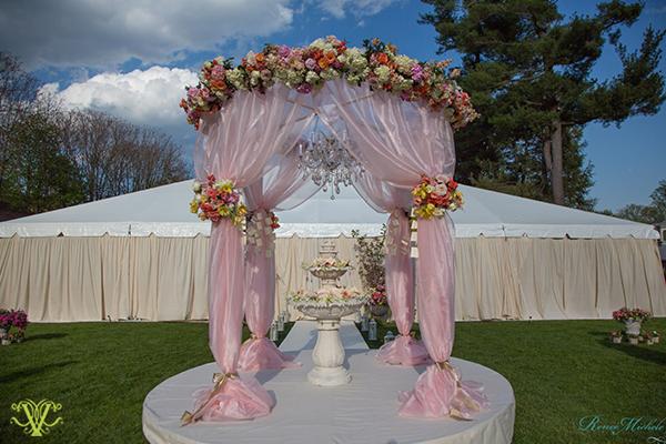 Victoria Clausen, Floral and Event Design, Baltimore/Washington DC. Fairytale wedding.