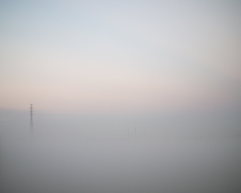 Foggy Mississippi, New Orleans, Louisiana, 2016