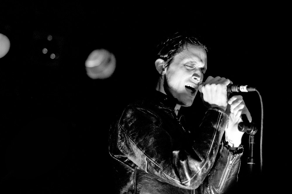 Jimmy Gnecco of Ours, Rock and Roll Hotel, Washington, D.C., February 8, 2007