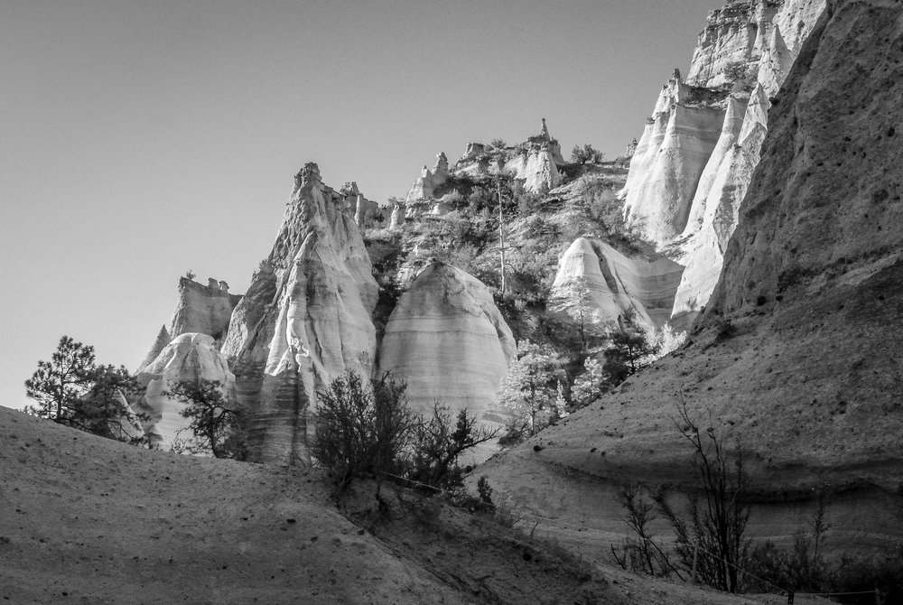 Kasha-Katuwe Tent Rocks National Monument, New Mexico, 2018