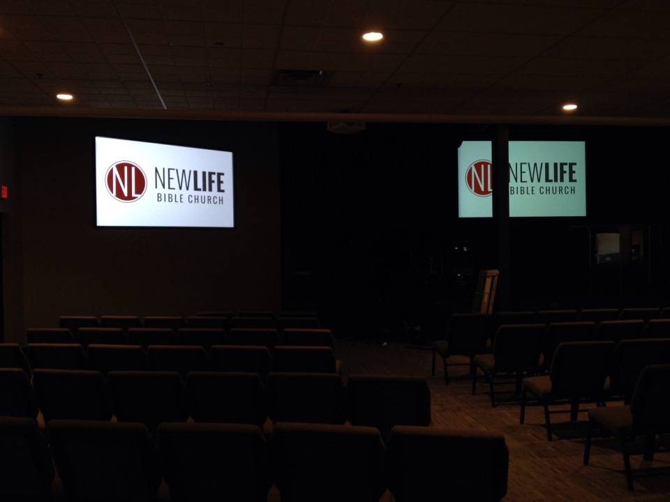 Upgraded Video at New Life Church