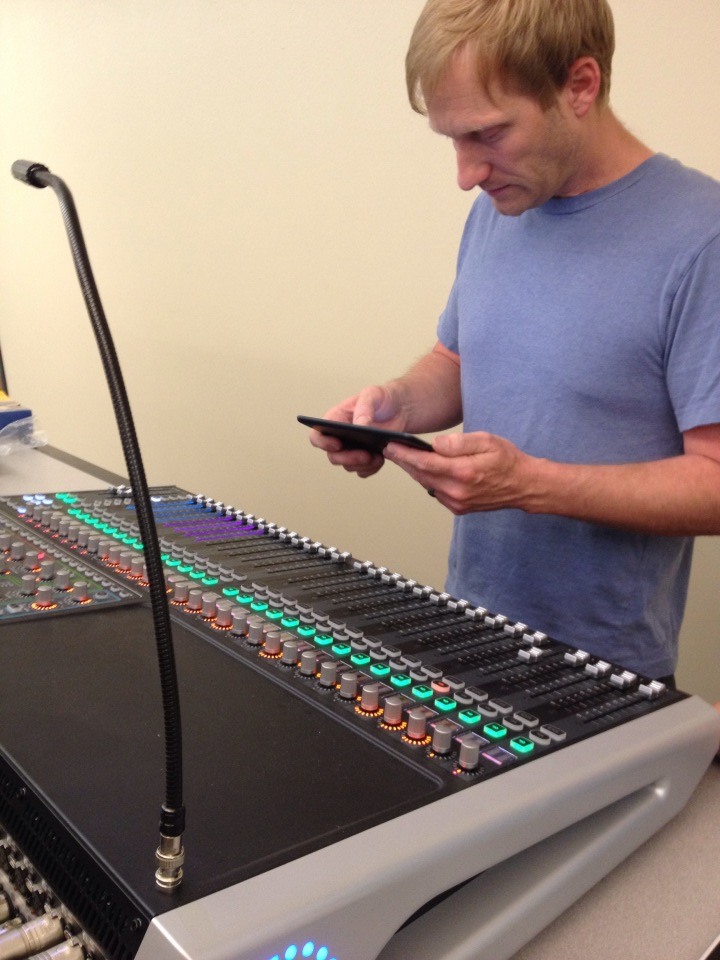 Remotely Adjusted Sound Board Installed for New Life Church