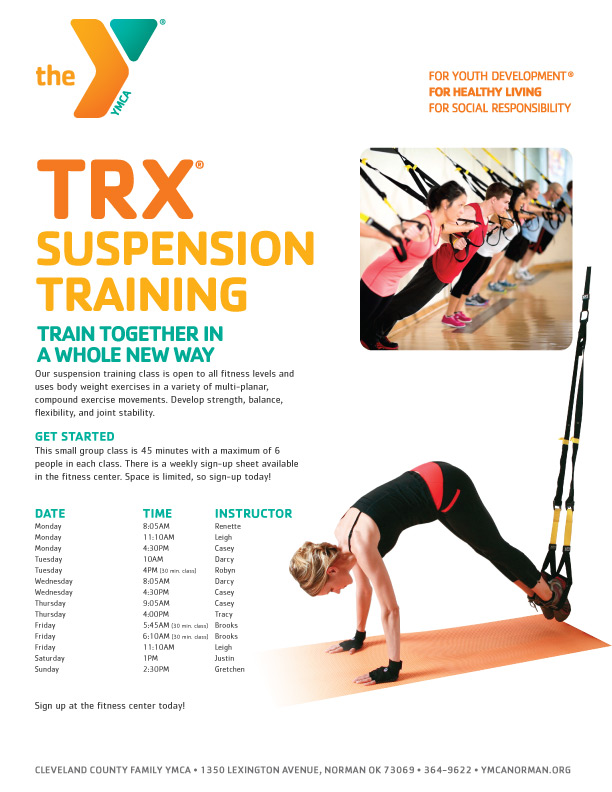 CCFYMCA Suspension Training Layout