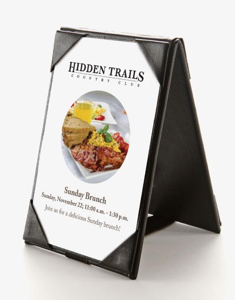Hidden Trails Brunch Menu