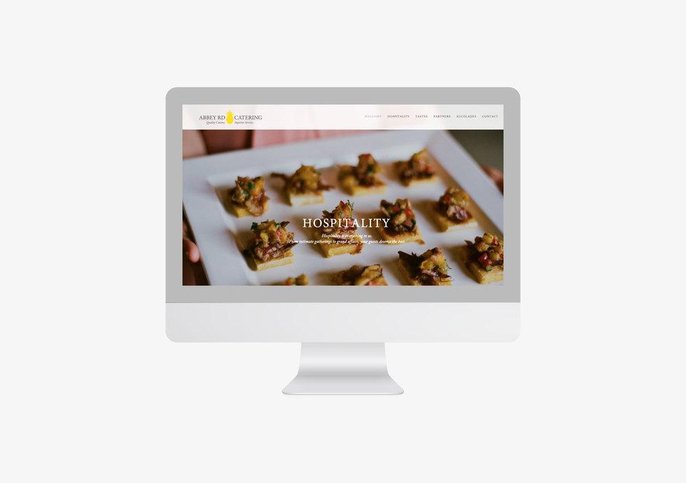 Abbey Road Website Screenshot