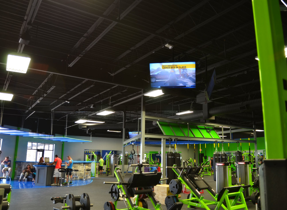 AV Work at Fitness Revolution