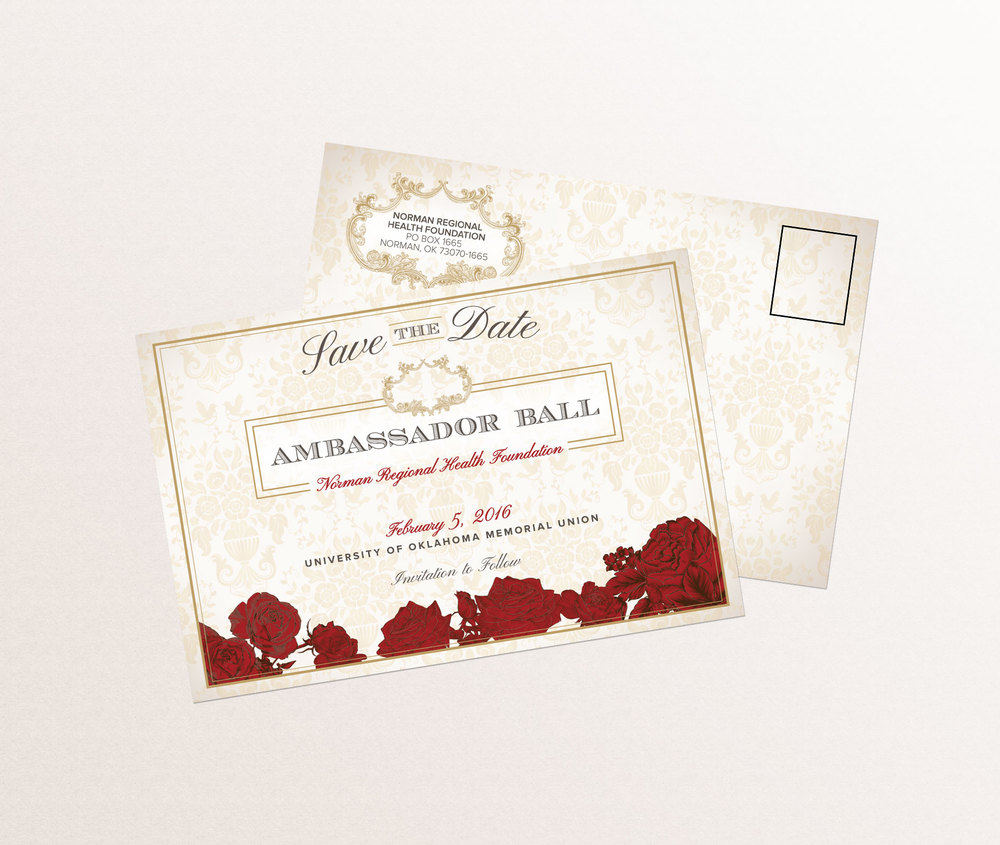 NRHF Gala Save The Date Design