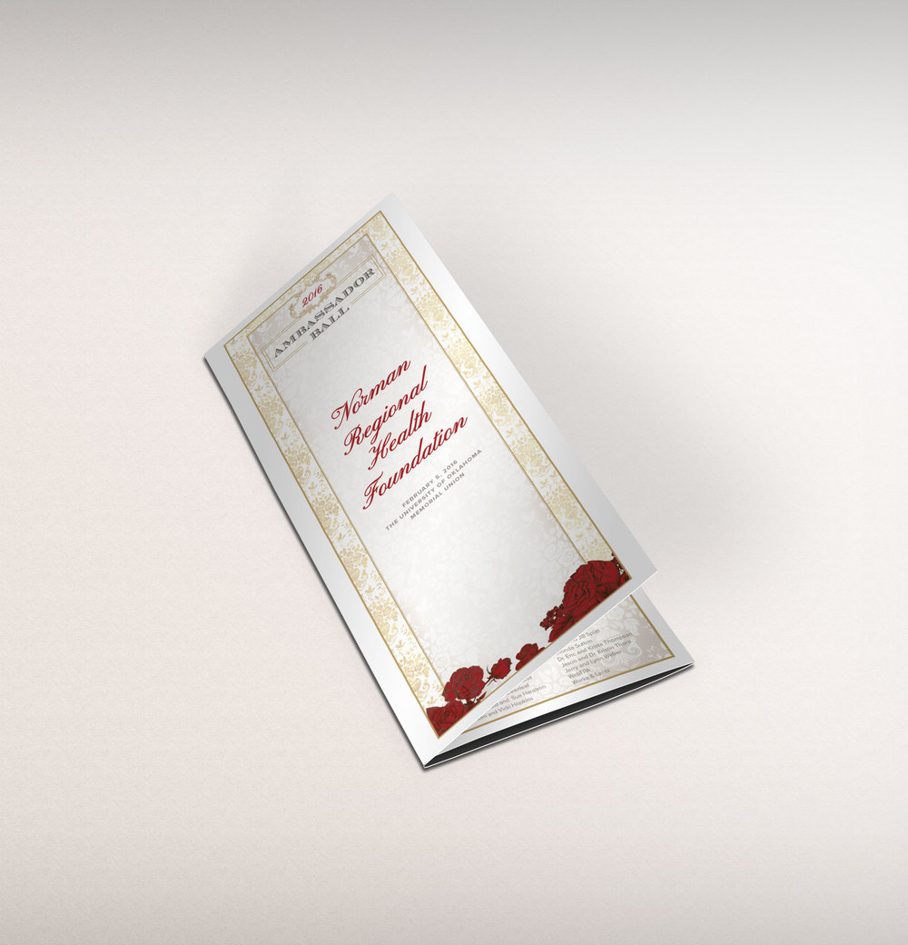 NRHF Gala Program Guide Design