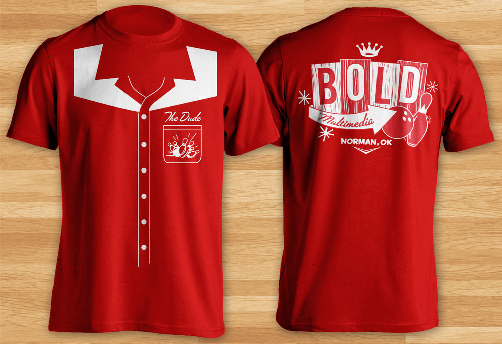 BOLD's soon-to-be-award-winning shirt design