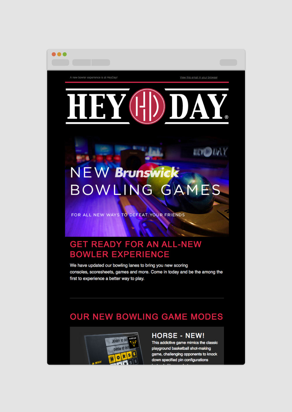 Hey Day Bowling Games