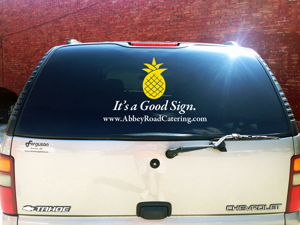 Abbey Road Truck Sticker