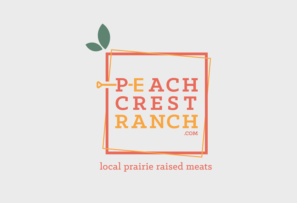 Peach Crest Ranch Logo