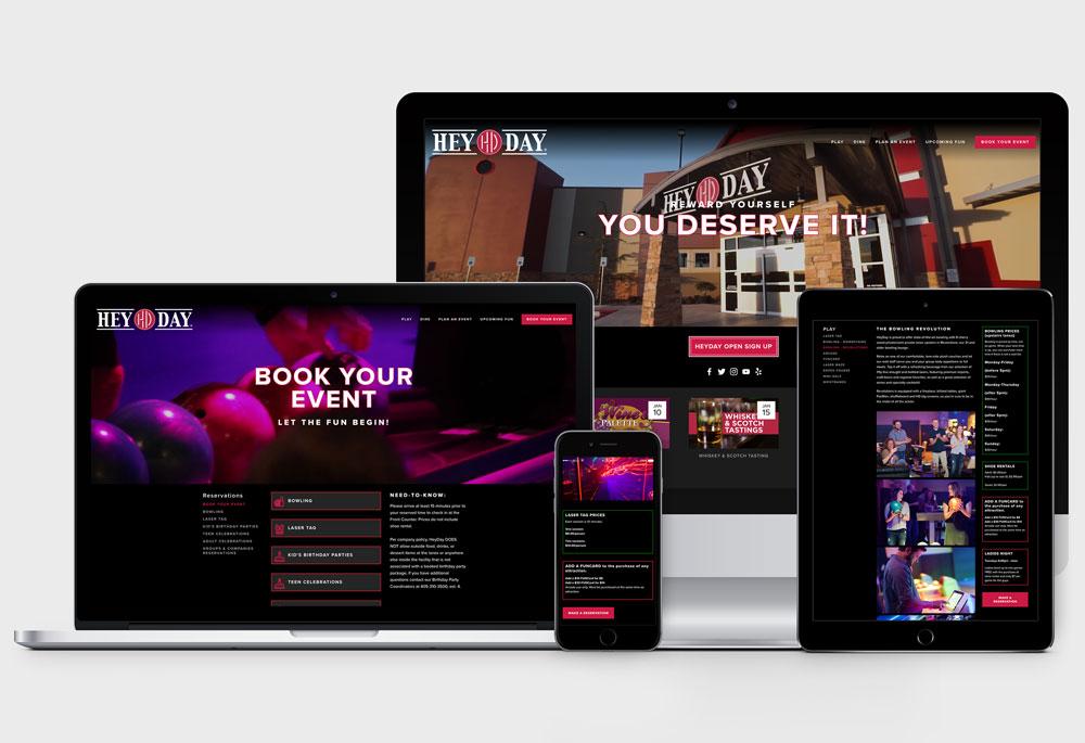 Hey Day Website Platforms