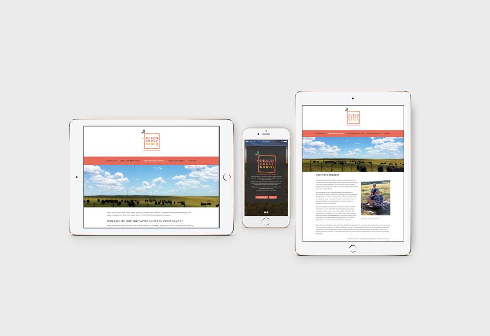 Peach Crest Mobile Website
