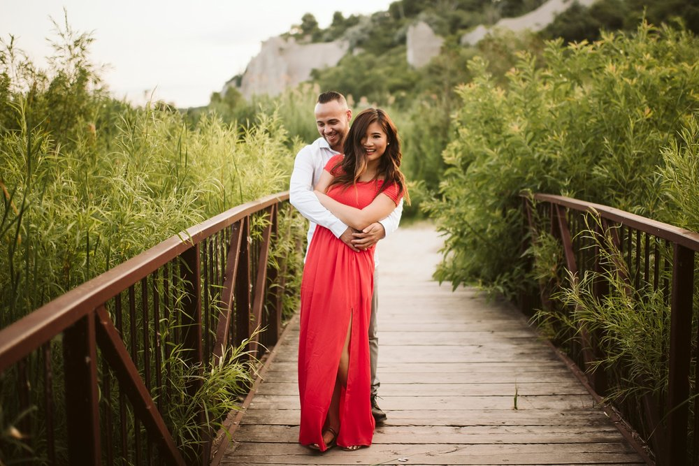 An engagement shoot is a perfect excuse to dress up!