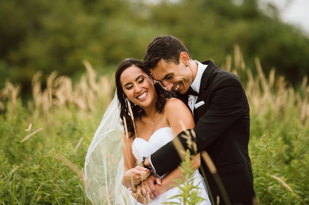"""Joanne & Michael - """"My husband and I are so happy we found Michelle and Dan as our wedding photographers! When we met them, they were so easy to get along with and made the whole experience fun and stress-free especially since we've never done a professional shoot before. Our pictures turned out beautiful and we couldn't be happier. Highly recommend!!"""" - Joanne & Michael"""
