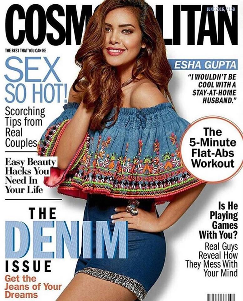 Cosmopolitan India - Esha Gupta Cover.jpg