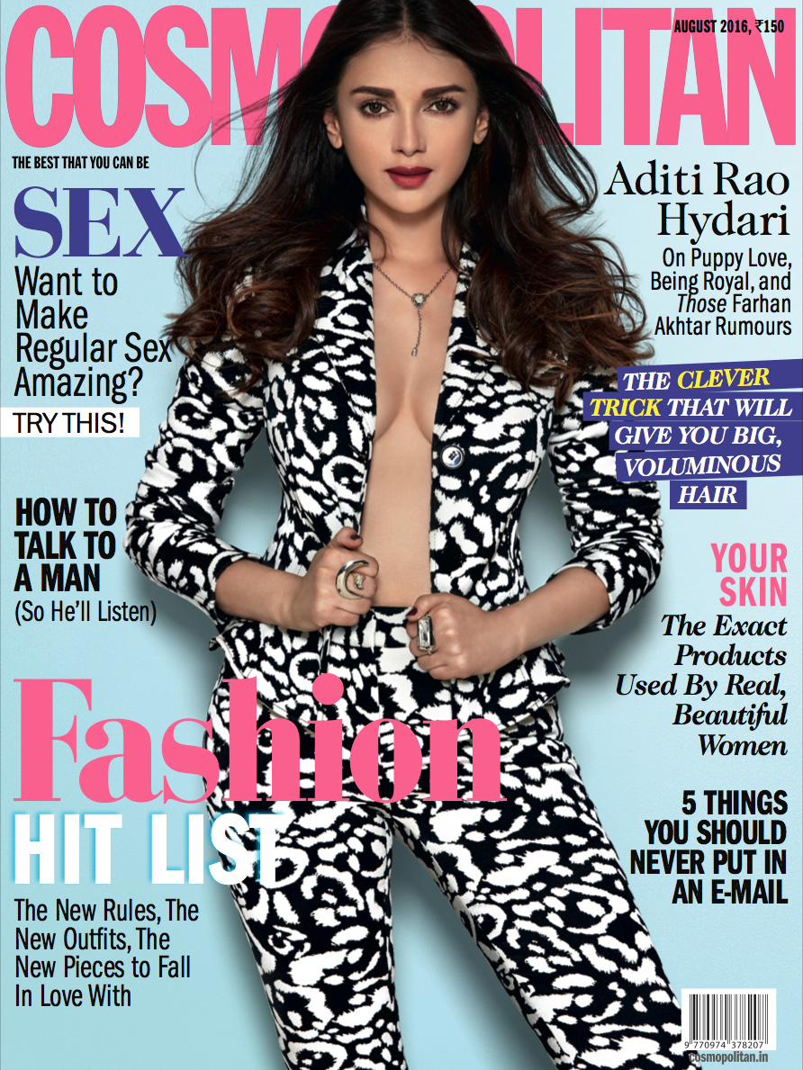 Cosmopolitan India August 2016 Aditi Rao Cover.jpg