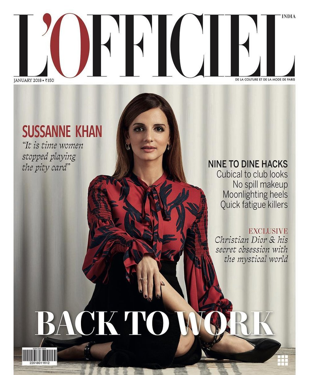 L'officiel India - Suzanne Khan.jpg