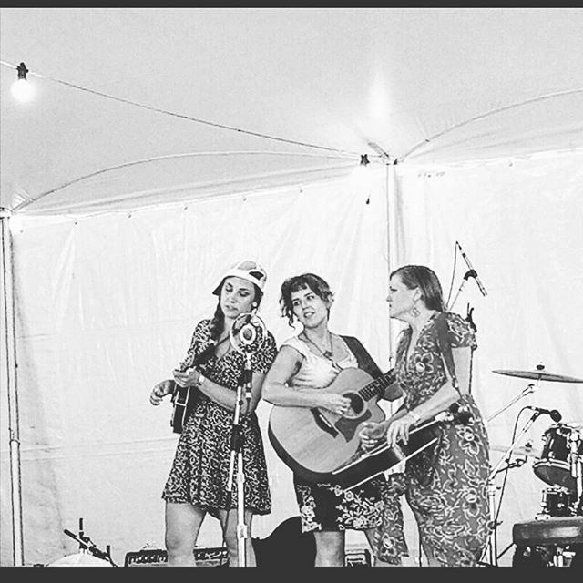 We had such a great time playing for you all on Friday at @pff2017, so we're coming back to do it again at Noon today! Camp stage with @nogoodsister
