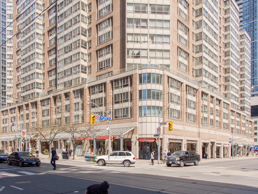 The Liberties Building, Gerrard Street and Bay Street