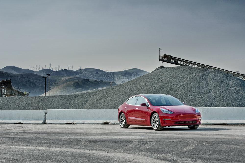 Tesla Mk III Shot in Fremont