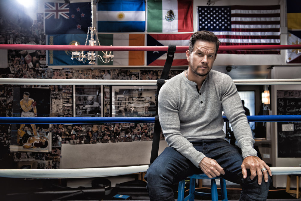 Mark Walhberg - Actor - photographed at the Wild Card Boxing Gym, Santa Monica © Credit Barry J Holmes ©