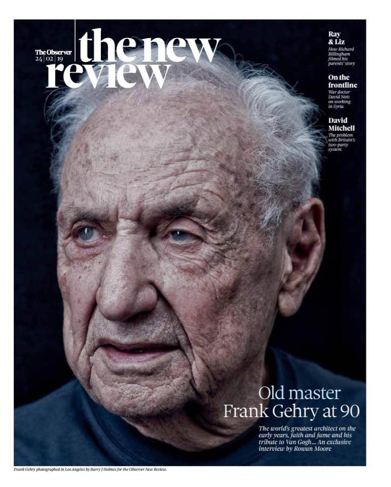 Frank Gehry - The Observer New Review