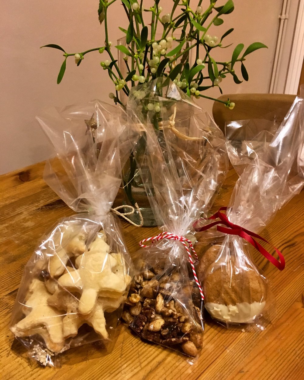 Our home baked Christmas gifts