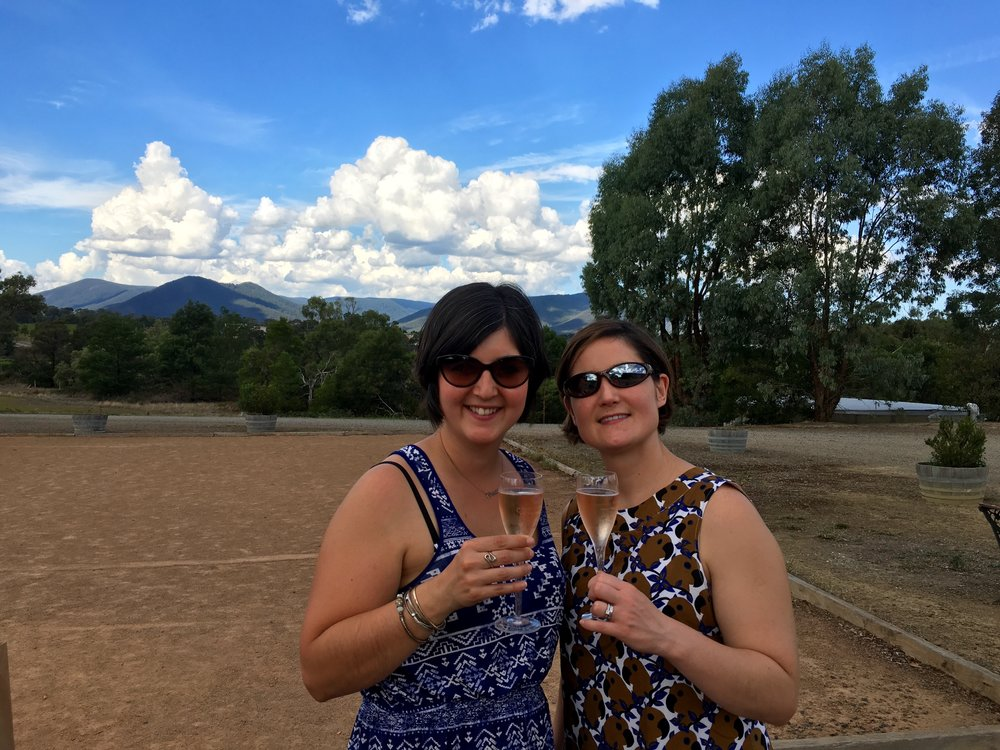 Enjoying the fruits of Chandon winery