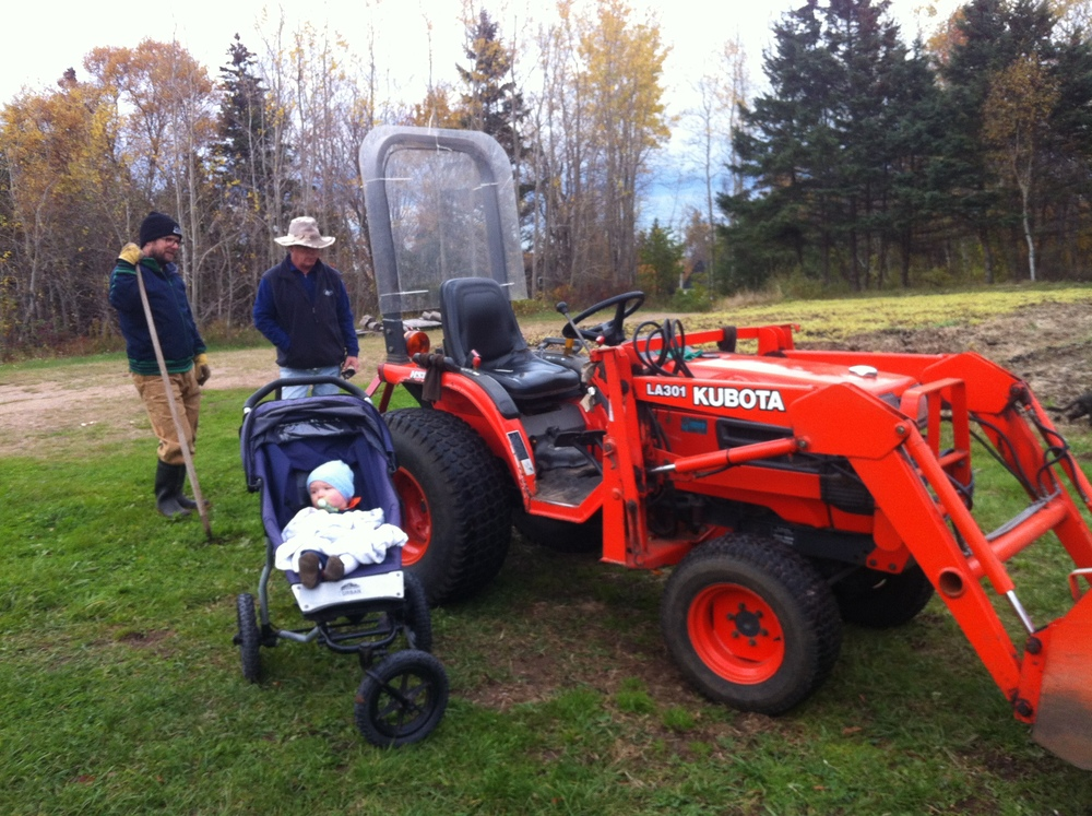 3 generations with the tractor.