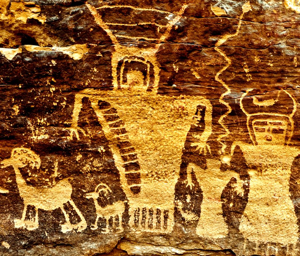 Stan Strembicki, Fremont Petroglyphs, Nine Mile Canyon, Utah. 2012.