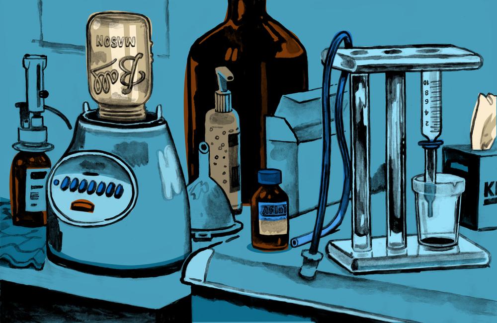 Ad Hoc Aflatoxin Lab, Quartz