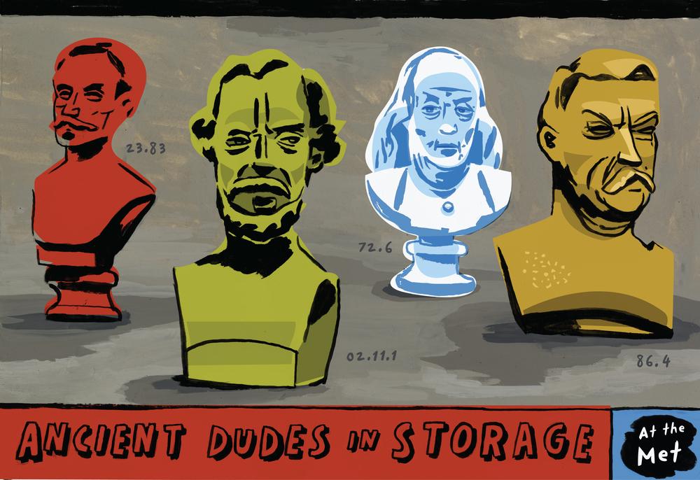 Ancient Dudes in Storage