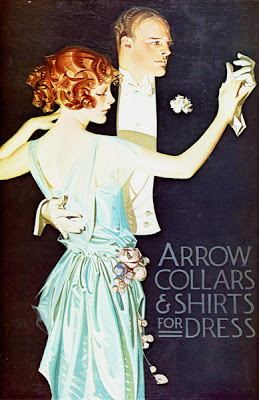 J.C. Leyendecker, Arrow Shirt Ad, circa 1930