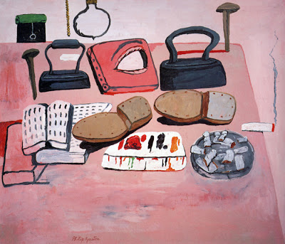 Guston, Painter's Table, 1970