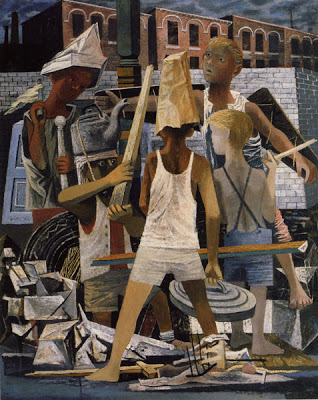 Philip Guston,Martial Memory, 1941.