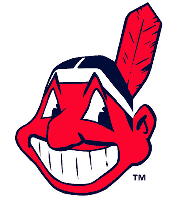 Chief Wahoo logotype, in use from 1951 to 1972, and again since 1980