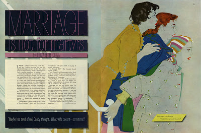 "Al Parker, ""Marriage is for Martyrs,"" Ladies Home Journal, April 1953"