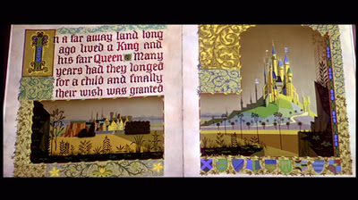 Eyvind Earle, production design, Sleeping Beauty, Walt Disney Studios, 1959