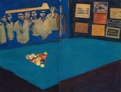 Robert Weaver, Brief Lives, Pool Hall, date uncertain