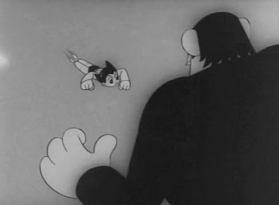 Osamu Tezuka, Mighty Atom (Astro Boy in English), 1963. The show ran in Japan from 1963 to 1966. An American version dubbed in English ran on NBC during the same period.