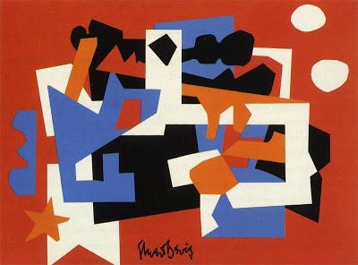 Stuart Davis,Colonial Cubism, 1956