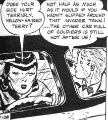 Caniff, Terry, daily strip panel, 1937